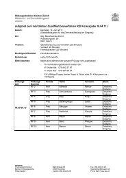 Aufgebot Refa Berufskunde mündlich 16.04.11
