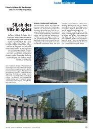 SiLab des VBS in Spiez - Robe Verlag AG