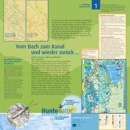 Huntetafeln als pdf - Hunte-Natur
