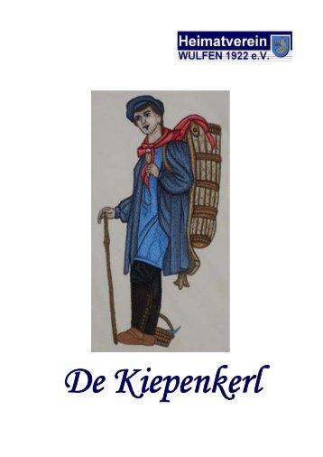 Kiepenkerl - Heimatverein Wulfen 1922 eV