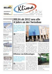 das neue Regler- sortiment der Klima - Robe Verlag AG