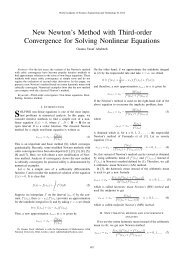 New Newton's Method with Third-order Convergence for Solving ...