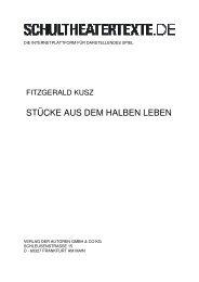 Kusz, Stücke aus dem halben Leben - schultheatertexte.de