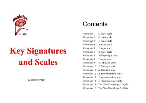 Key Signatures and Scales - Music Fun