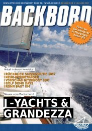 Backbord Nr. 2/2007 - Rohn Bootswerft