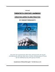 TWENTIETH CENTURY HARMONY - The Reel Score