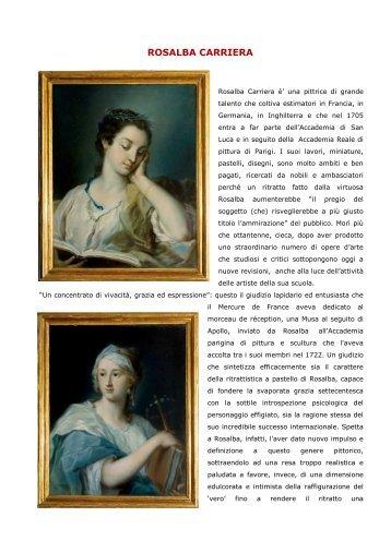 Rosalba Carriera - a lume di candela