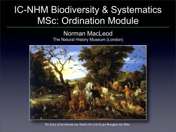 Course Introduction - Introduction.pdf - Natural History Museum