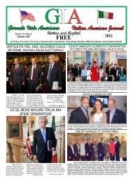 Italian American Journal Giornale Italo Americano - GIA