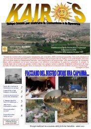Pubblicata l'edizione di Kairòs - dicembre 2012 - Parrocchia San ...