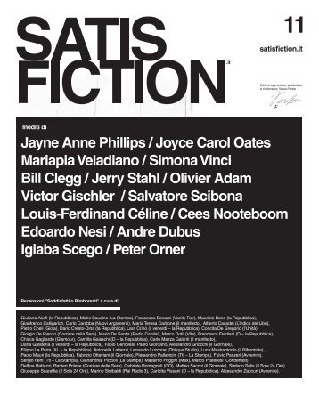 Jayne Anne Phillips / Joyce Carol Oates Mariapia ... - Satisfiction