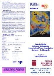 Scuola Media Primaria S.Giuseppe Liceo Scientifico e Linguistico ...