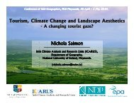Nichola Salmon Tourism, Climate Change and Landscape Aesthetics