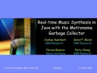 Real-time Music Synthesis in Java - bomers.de