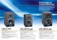 Studio Monitore Prospekt (Page 1) - Roland
