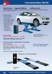 Aufbauversion - Roland Bertschi AG