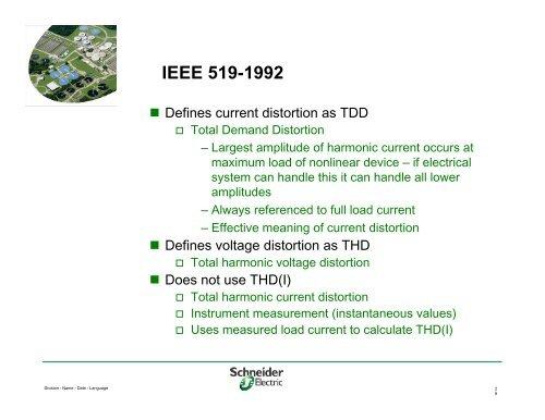IEEE 519-1992 Table 10 2