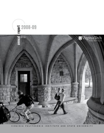 Annual Report, President's - Office of the President - Virginia Tech