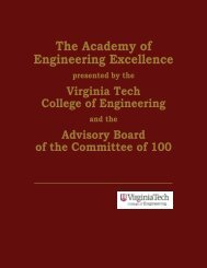 The Academy of Engineering Excellence - College of Engineering ...