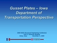 Gusset Plates - Conference Planning and Management