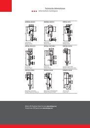 Senkrechtbeschattung / Stores à descente verticale - Rolladen AG