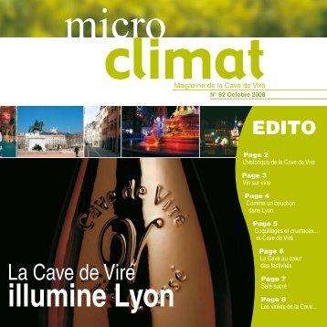 Téléchargez le Micro Climat n° 62 (format PDF - Cave de Viré