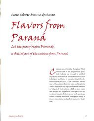 Flavors from Paraná