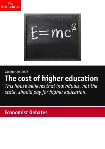 download this debate as a PDF - The Economist