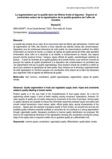 Article pdf, 107 Ko - Inra