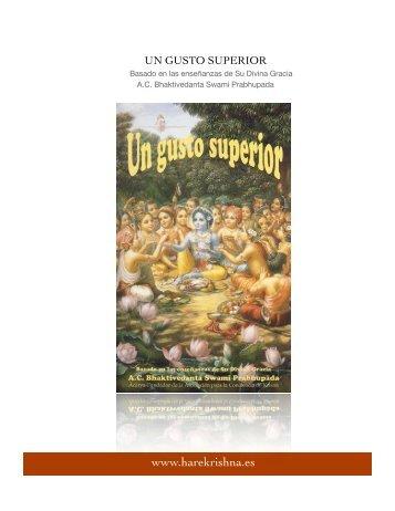 Un Gusto Superior - Hare Krishna