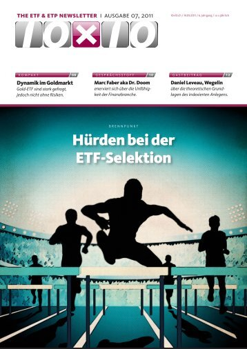 Hürden bei der ETF-Selektion - Rolotec