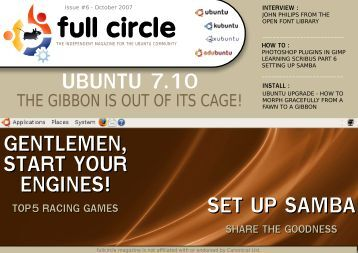 Issue 6 - Full Circle Magazine