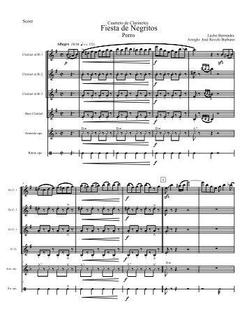 Fiesta de Negritos-Score.mus - Celebra la Música