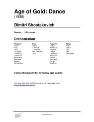 Download the Shostakovich Age Of Gold Dance (Primary) PDF
