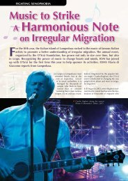 Music to Strike a Harmonious Note on Irregular - International ...
