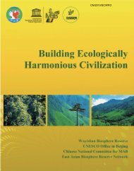 Building ecologically harmonious civilization ... - unesdoc - Unesco
