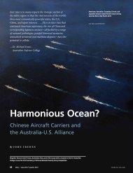 Harmonious Ocean? - National Defense University