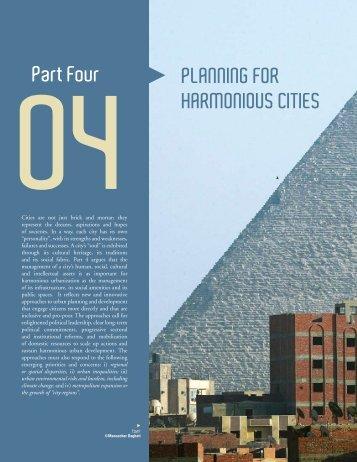 PLANNING FOR HARMONIOUS CITIES Part Four - UN Habitat