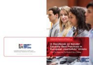 Gender Equality Best Practices Handbook - International Federation ...