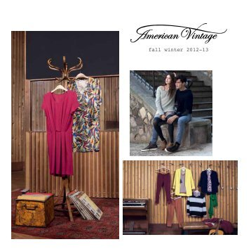 fall winter 2012-13 - American Vintage