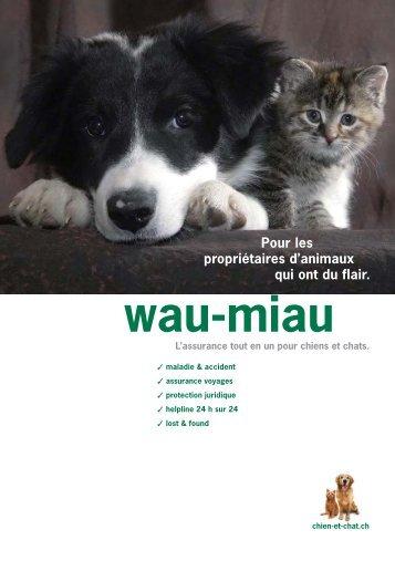 wau-miau - Prestations d'Assurance SA