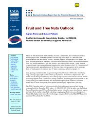 Fruit and Tree Nuts Outlook