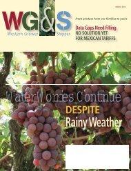 Rainy Weather - Western Growers Association