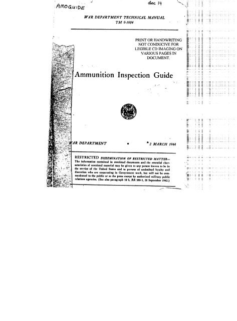 TM 9-1904, Ammunition Inspection Guide - 90th ID