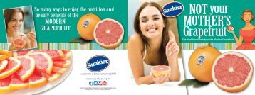 NOT your MOTHER'S Grapefruit - Sunkist