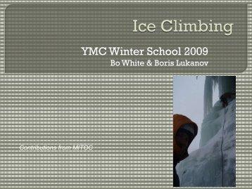 YMC Winter School 2009 - Yale Mountaineering Club