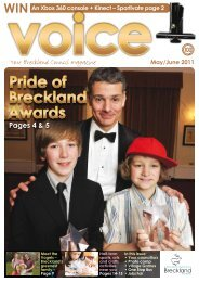 May/June Voice 2011 - Breckland Council