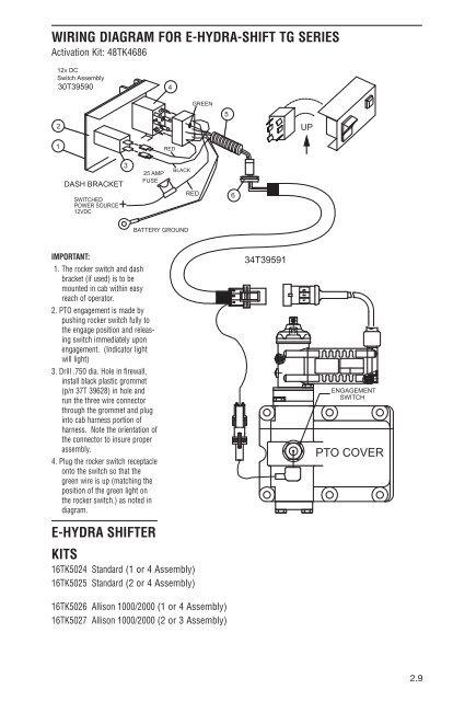 Muncie Pto Wiring Diagram Allison pto air control valve ... on muncie hydraulic clutch kits, muncie parts, muncie transmission, muncie hydraulic electric shift wiring,