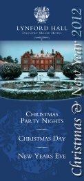 Lynford Hall Xmas Brochure12 WEBSITE:Layout 1 - Lynford Hall Hotel