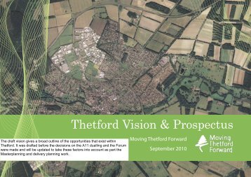 Draft Thetford Prospectus - Breckland Council